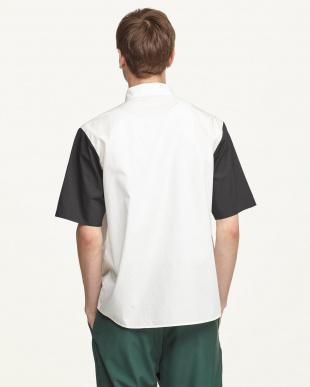 OFFWHITE カラーブロックドシャツ(5分袖)見る