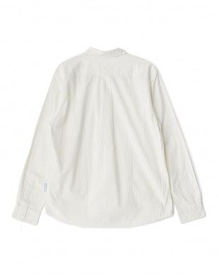 生成×WH×GY  FORK&SPOON ストライプベーシックシャツ見る