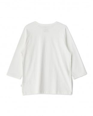 White  Raglan 8分袖Tシャツ DOORS見る