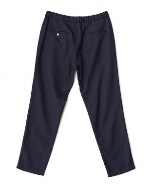 Navy  City Easy Trousers DOORS見る