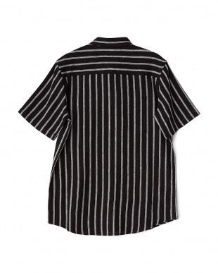 BLACK JQDストライプ半袖シャツ WH見る