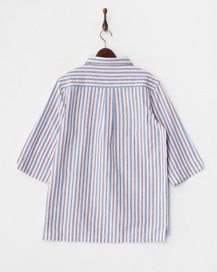 RED  ストライプP/Oシャツ WH見る