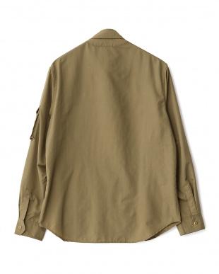 BEIGE  シャツジャケット WH見る
