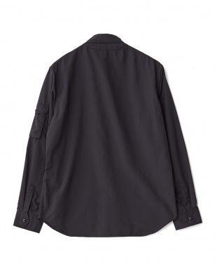BLACK  シャツジャケット WH見る