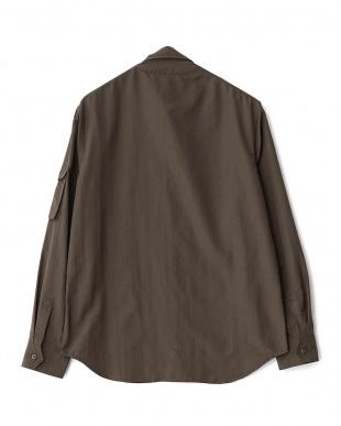 KHAKI  シャツジャケット WH見る