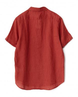 RED  フレンチリネン半袖レギュラー WH見る