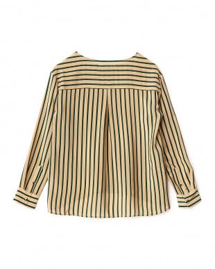 Lizerd  Silk Stripe Pullover Lirica見る