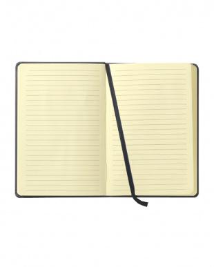 レッド  Habana 10×15cmゴムバンド付きノート 横罫見る