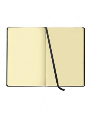 レッド  Habana 16×24cmゴムバンド付きノート 無地見る