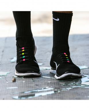 BLACK  MULTI 靴ひも|UNISEX見る