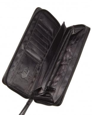 Midnight Stripe  Large Zip-Around Wallet見る
