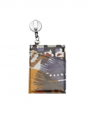 Painted Feathers  Retractable Lanyard ID Case見る