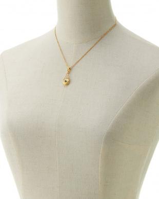 ゴールド K18色石ネックレス見る