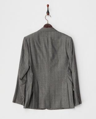 WHITE×BLACK×GOLD(HERRINGBONE) 2釦シングルジャケット見る