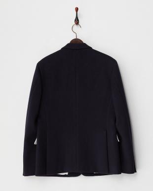 NAVY エンブレム 2釦シングルジャケット見る