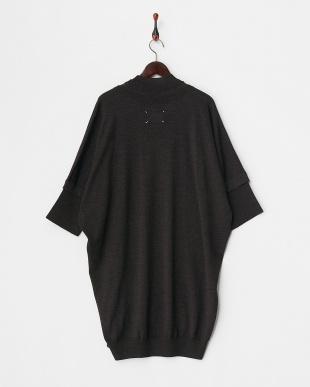 DARK BROWN系  Knit Dress見る