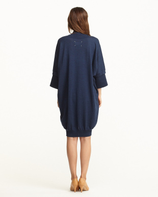 NAVY  Knit Dress見る