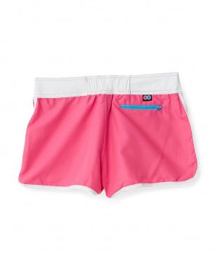 ピンク  UVカット サーフパンツ|WOMEN見る