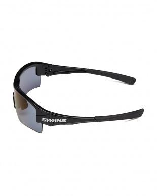ブラック SWANS 偏光アイスブルー スポーツサングラス見る