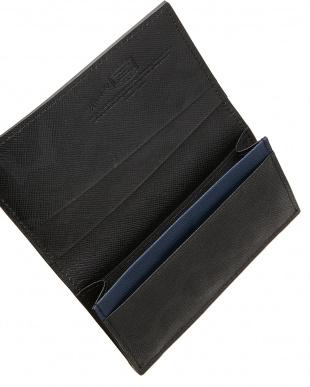 ブラック  カモフラージュ柄カードケース見る