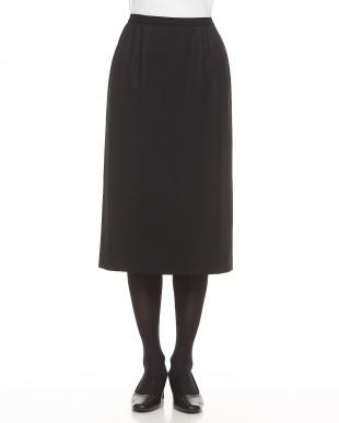 ブラック ベーシックタイトスカート見る