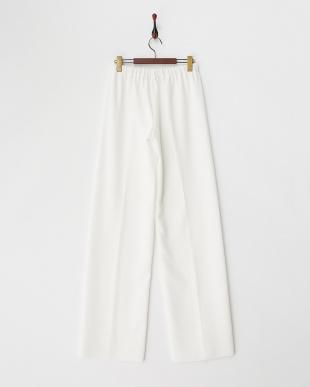 ホワイト ROUND Long pants見る