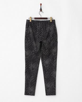 BLACK RISO・leggings プリントストレッチパンツ見る