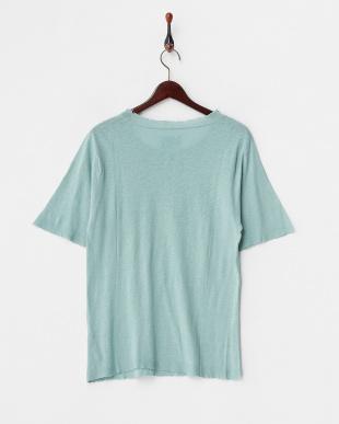 グレイッシュグリーン  GINA BIS LCO ニットTシャツ見る