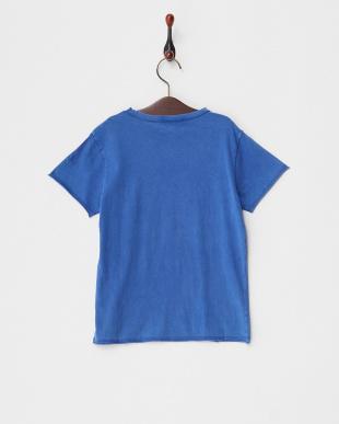 BLUE  KITA プリントTシャツ見る