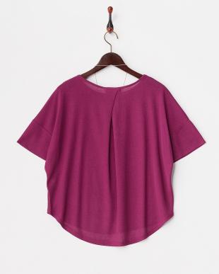 ピンク  ANDネックレス付き半袖PO見る