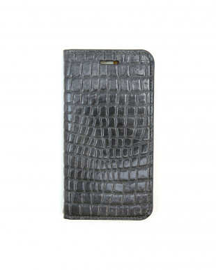 SLATE GRAY  Foliocase Croco iPhone7用見る