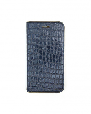 INDIGO  Foliocase Croco iPhone7用見る