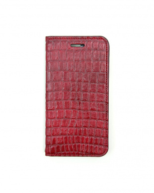 CARMINE  Foliocase Croco iPhone7用見る