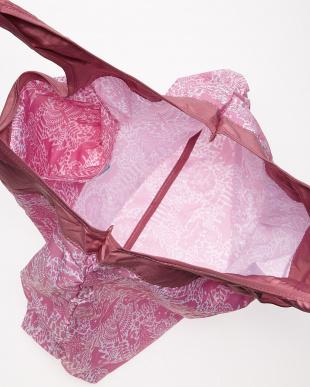 ピンク  影絵柄 ショッピングバッグ見る
