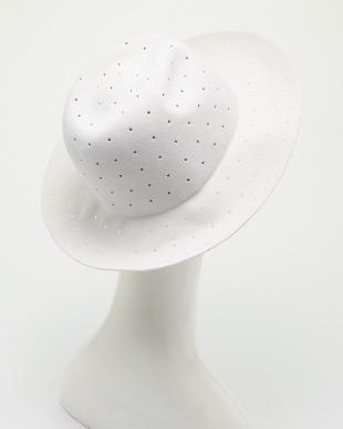 WHITE STAR マニエラ パンチングハット見る