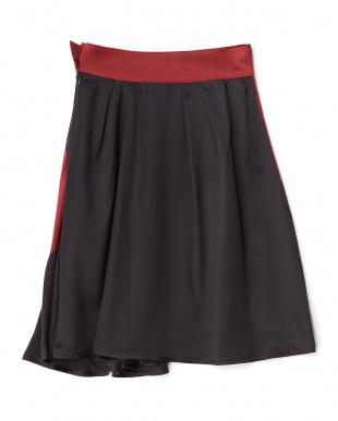 ボルドー  聖なる手 シルクスカート見る