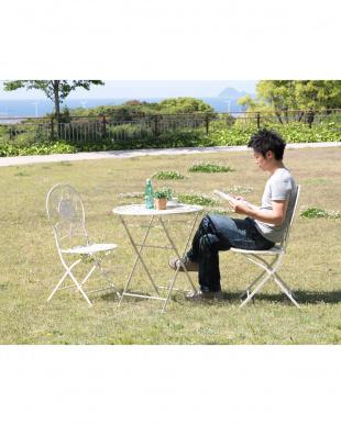 viora ガーデンフォールディングテーブル見る