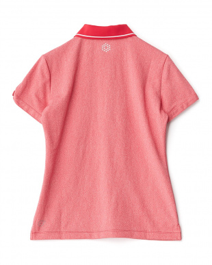 ROSE RED  袖ボタン ポロシャツ見る