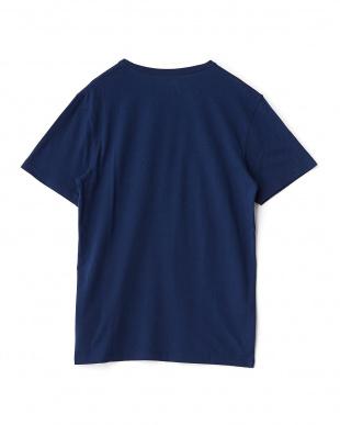 ネイビー New Hampshire 半袖Tシャツ見る