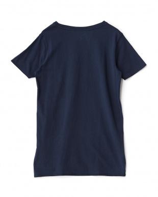 ネイビー  ホイットマンリバー 半袖Tシャツ見る