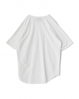 ホワイト  Back Raglan Long T-Shirt見る