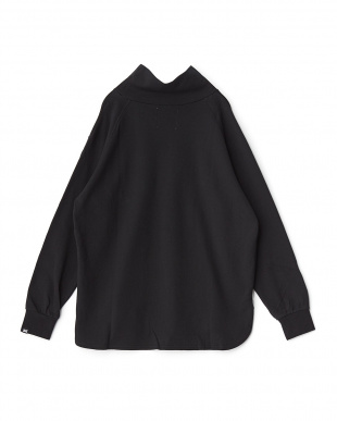 ブラック  High Neck L/S T-Shirt見る