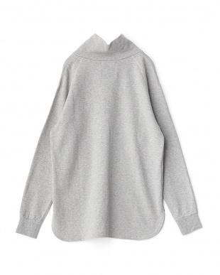 Top Gray  High Neck L/S T-Shirt見る
