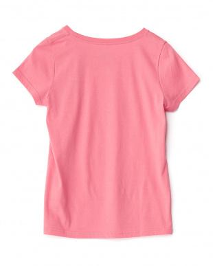 ピンク  LOVE BEACH Tシャツ見る