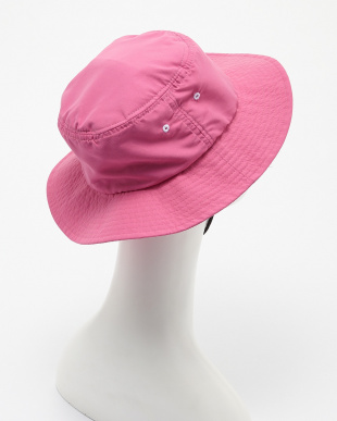ピンク  無地サーフハット見る