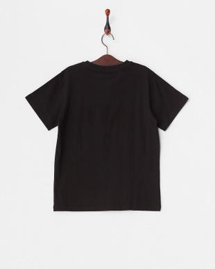 ブラック  キッズ ロゴ&スターTシャツ見る
