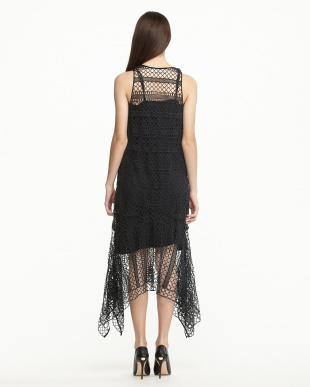 BLACK GIGISA ギピュールレースドレス見る
