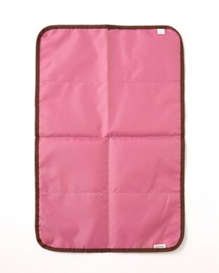 ピンク  リバーシブルおむつ替えシート見る