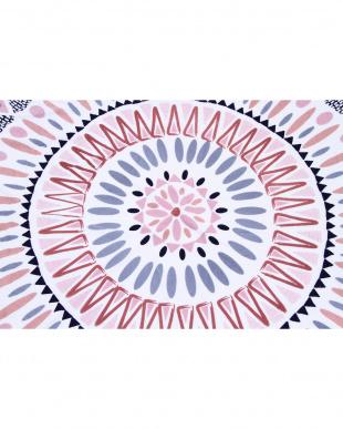 AZTEC PINK  ラウンドタオル(直径150cm)見る