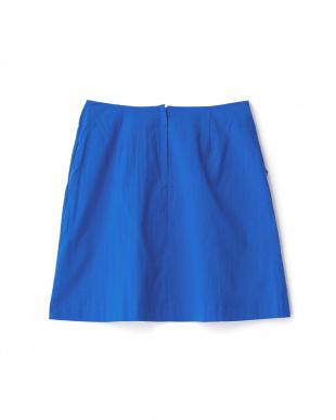 ブルー  ツイストスカート見る